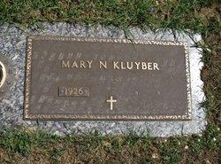 Mary N. <I>Staley</I> Kluyber