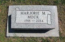 """Marjorie M """"Marge"""" <I>Gosche</I> Mock"""