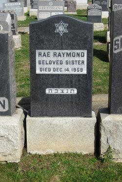 Rae <I>Katz</I> Raymond