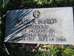SGT Fred A Schild
