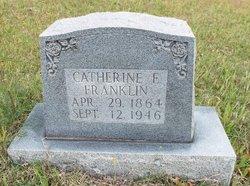 Catherine E Franklin