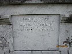Charles J Roy, Sr