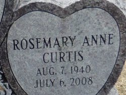 Rosemary Anne <I>Curtis</I> Thomas