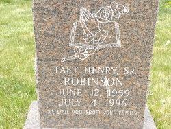 Taft Henry Robinson, Sr