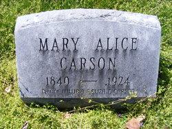 Mary Alice Carson