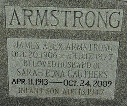 Infant Son Armstrong