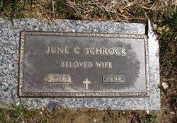 June L. <I>Coughenour</I> Schrock