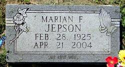 Marian Francis <I>Cleverstone</I> Jepson