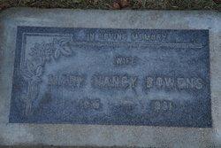 Mary Nancy Bowens