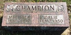 Orlie Champion