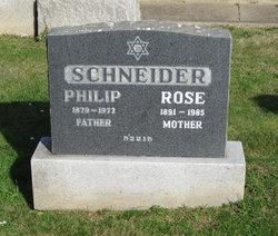 Rose <I>Lapsen</I> Schneider