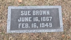 Sue <I>Isham</I> Brown