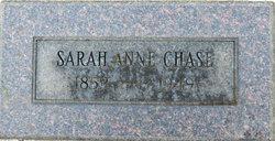 Sarah Anne <I>Gray</I> Chase