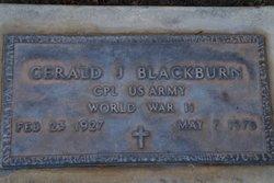 CPL Gerald J Blackburn