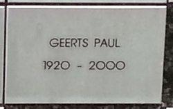 Paul Geerts