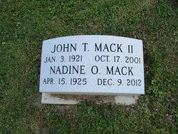 Nadine O Mack