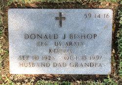 Donald J Bishop