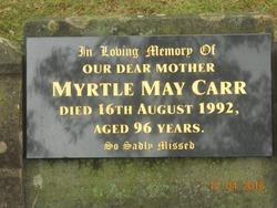 Myrtle May <I>Prisk</I> Carr