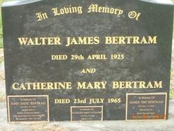 Catherine Mary <I>Berryman</I> Bertram