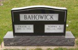 Frank IJoseph Bahowick