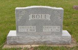 Gertrude M <I>Crist</I> Boll