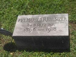 PFC Harold Rine Balsizer