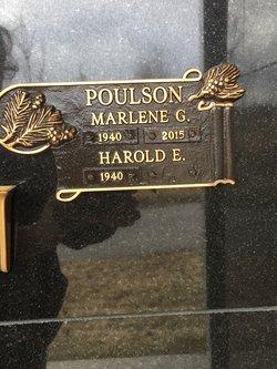 Marlene Gail <I>Adams</I> Poulson