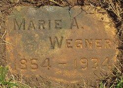 Marie A. <I>Schulz</I> Wegner