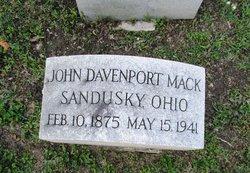 John Davenport Mack