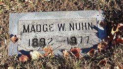 Madge Wilhelmina Nuhn