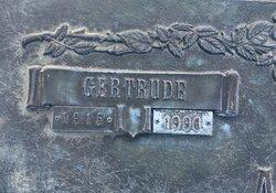 Gertrude C Adkinson