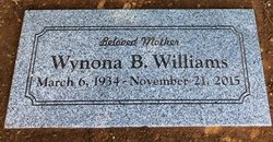 "Wynona Beatrice ""Nona"" <I>Leonard</I> Williams"