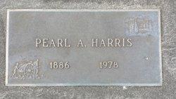 Pearl Abra <I>Posey</I> Harris
