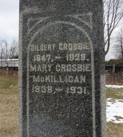 Mary <I>McKillican</I> Crosbie