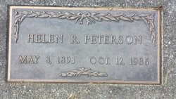 Helen S <I>Rice</I> Peterson
