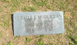 "Lucille F ""Muddy"" McQuillan"
