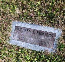Mildred L. Stafford