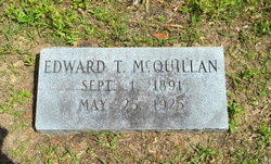 Edward T McQuillan