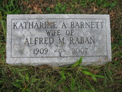 Katharine Anna <I>Barnett</I> Raban
