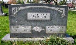 Geneva <I>Brown</I> Egnew