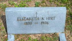 Elizabeth <I>Kelley</I> Hirt
