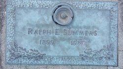 Ralph E Summers