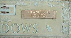Frances Henrietta <I>Krol</I> Meadows