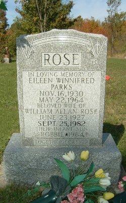 Eileen Winnifred <I>Parks</I> Rose