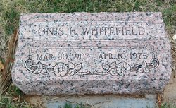 Onis H. Whitefield