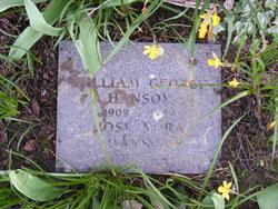 William George Hanson