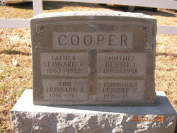 Leonard B Cooper