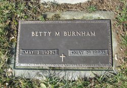Betty M. Burnham