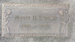 Minnie H Stinson