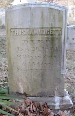 Thomas J. Mudgett